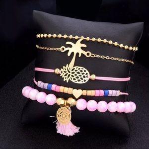 Jewelry - NWT BUY ANY 2 GET 1 FREE 5 FESTIVAL BRACELET SET
